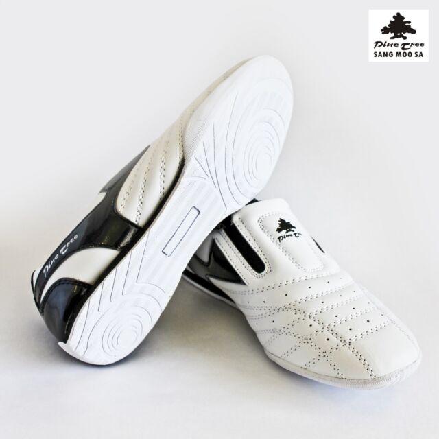 Taekwondo Schuhe Kampfsport Slipper weiß schwarz Budo Sneaker TKD NEW Gr. 38 45