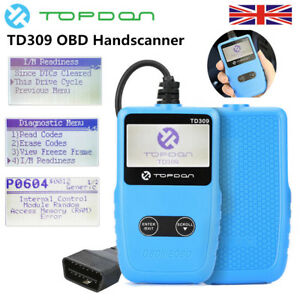 TOPDON TD309 Diagnostic Scanner OBDII EOBD Car Code Reader Fault Code Scan Tool - London, United Kingdom - TOPDON TD309 Diagnostic Scanner OBDII EOBD Car Code Reader Fault Code Scan Tool - London, United Kingdom