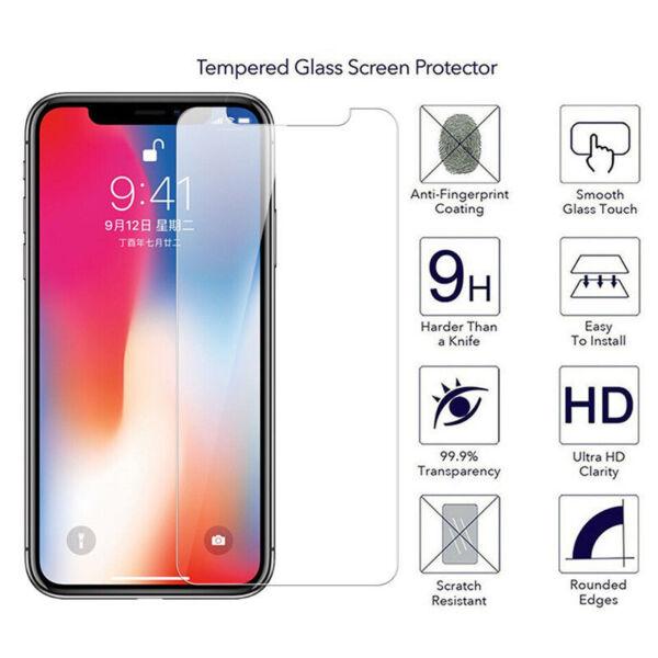 100% Véritable Verre Trempé Protecteur D'écran Fit Pour Apple Iphone X/xs Iphone 10 Rendre Les Choses Pratiques Pour Les Clients