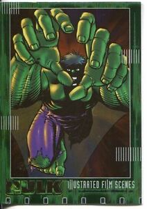 The Hulk Film And Comic Cards Illustrated Film Scenes Chase Card IF09 Marvel-films Verzamelkaarten, ruilkaarten