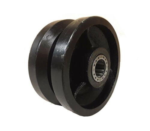 """1 EA 4/"""" x 2/"""" V-Groove Wheel with Bearing"""
