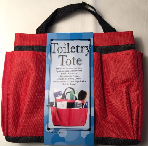 TOILETRY TOTE KEEP ALL YOUR PERSONAL USE ITEMS ORGANIZE
