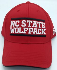 100% De Qualité Ncaa North Carolina State Wolfpack Adidas Bords Incurvés Casquette Style #nw97z Emballage Fort