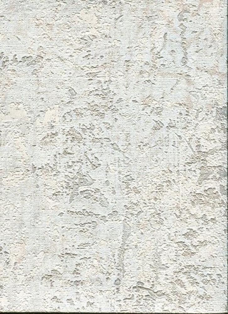 17058 - Roberto Cavalli 6 Embossed Paster Effect bluee Ecru Champagne Wallpaper