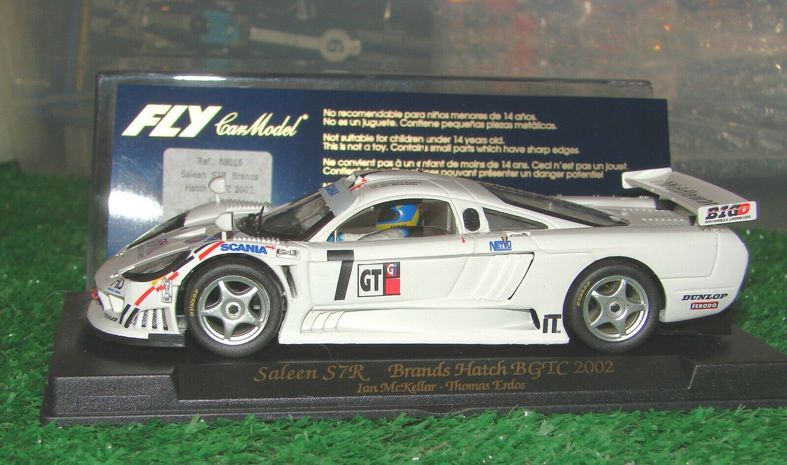 Fly A265 88016 Saleen S7R 2002 Brands Hatch  7 NEW IN BOX