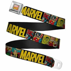 Marvel-Comics-Retro-Full-Colour-Webbing-Seatbelt-Buckle-Belt