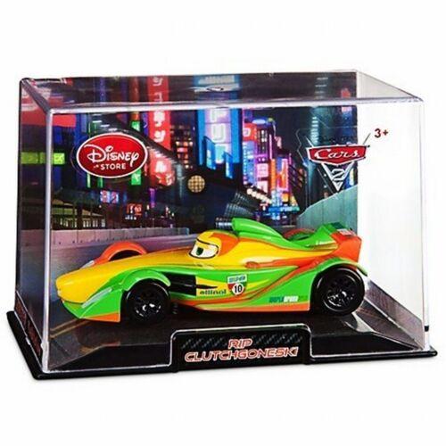 Disney Store Cars 2 Die Cast Collector Case Rip Clutchgoneski 1:43 Scale NEW