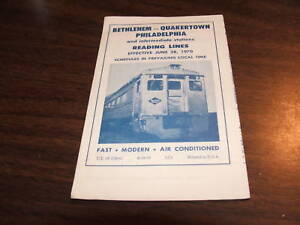 JUNE-1970-READING-COMPANY-PHILADELPHIA-BETHLEHEM-PUBLIC-TIMETABLE