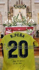 Camiseta del Villareal firmada por Ruben Peña