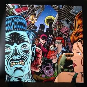 Brick-By-Brick-Iggy-Pop-CD-1990-Candy-KATE-PIERSON-B-52s-FOLD-OUT-POSTER