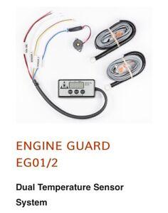 Dual Engine Temperature Gauge Alarm Headgasket Overheating Subaru Impreza