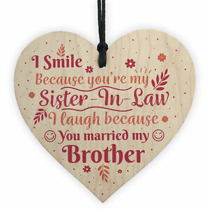 Funny-Sister-In-Law-Birthday-Card-Heart-Plaque-Keepsake-Friendship-Sister-Gifts