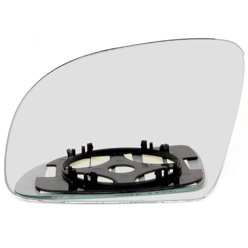 Left side for VW Polo 2000-2002 wing door mirror glass