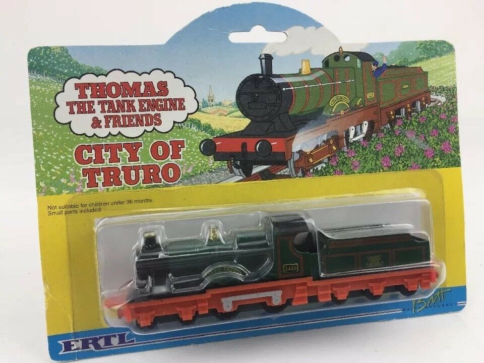 Ertl 4027 City Of Truro Die Cast Train Engine Thomas The Tank Engine & Friends