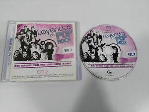LEYENDAS-DEL-POP-ROCK-ESPANOL-VOL-7-CD-LOS-SIREX-TENNESSE-LOS-WIKINGOS