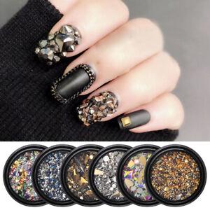 3D-Nail-Art-Flatback-Rhinestones-Glitters-Beads-Acrylic-Tips-Decoration-Manicure