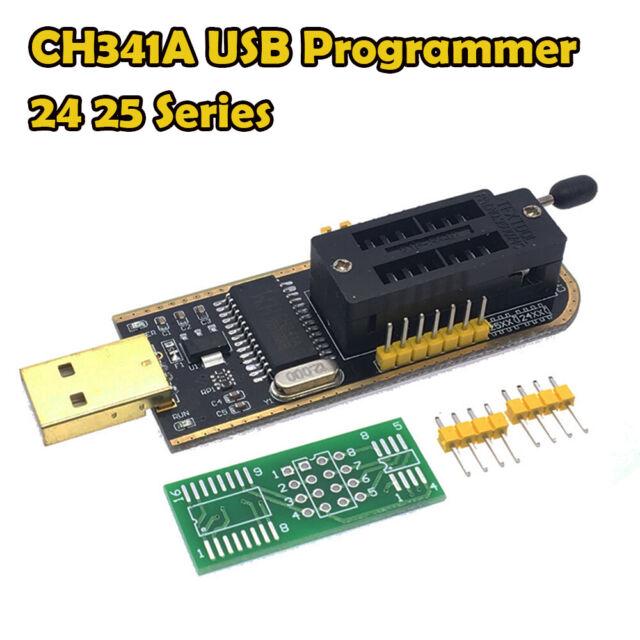 CH341A USB Programmer 24 25 Series MX25L6406E MacBook / Pro BIOS EEPROM FLASH AU
