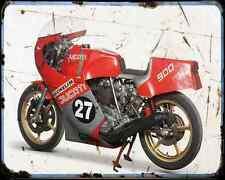 Ducati 860 Corsa 1 A4 Photo Print Motorbike Vintage Aged