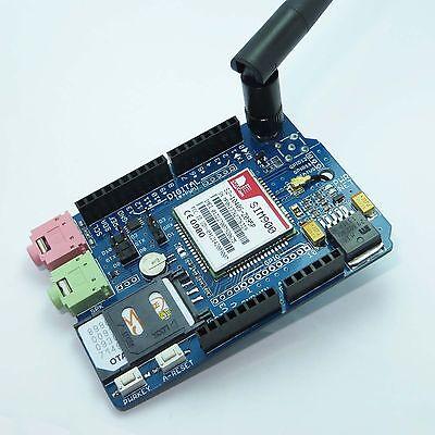 SIM900 Quad-band GSM/GPRS Shield for Arduino UNO/MEGA/Leonardo.