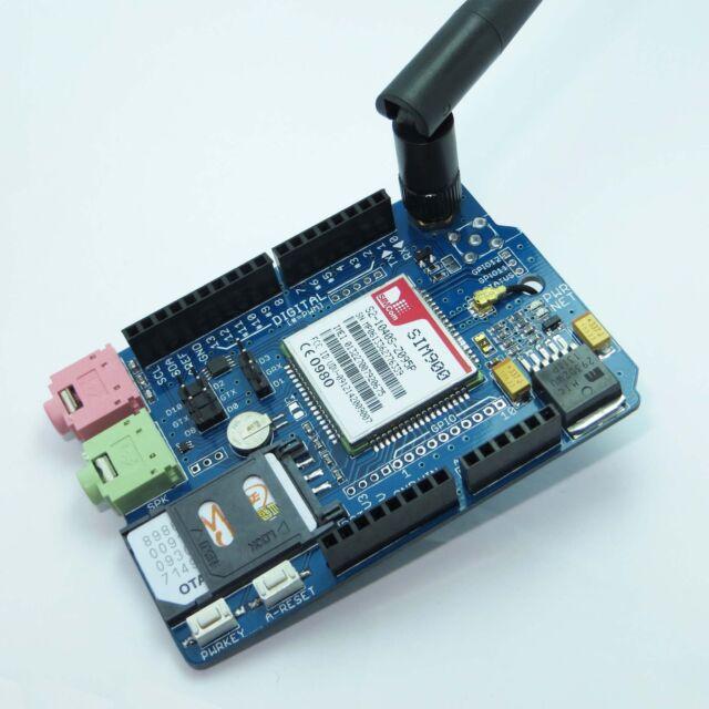 SIM900 Quad-band GSM/GPRS Shield for Arduino UNO/MEGA/Leonardo-USA Shipping