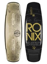 New Ronix Bill 140 Adam Errington Park&Wake Continuous Rocker Wakeboard Msrp$510