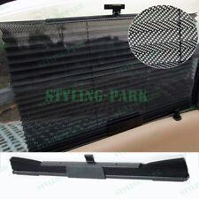 Black Auto Car Folding Foldable Side Window Windshield Sun Shade Visor Valance