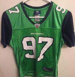 womens neon green seahawks jersey