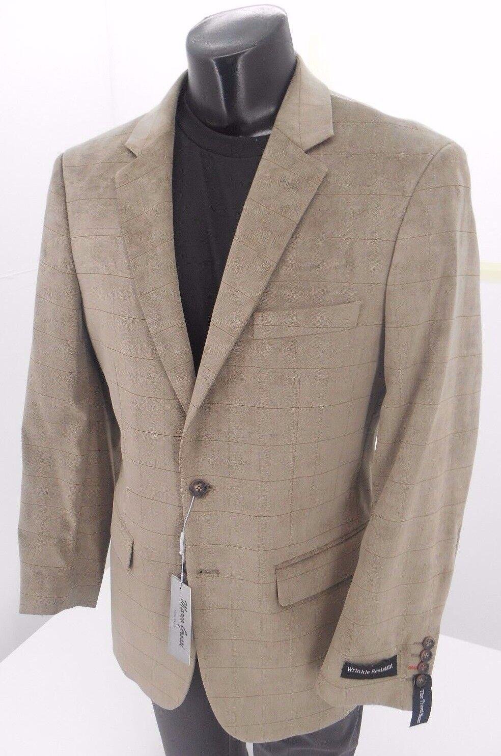 Marco Grossi Light Tan Men's 2B Sport Coat NOW  Retail