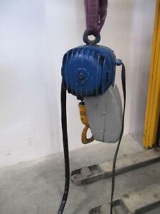 Kran-Kettenzug-500kg-0-5to-Demag-Laufkatze