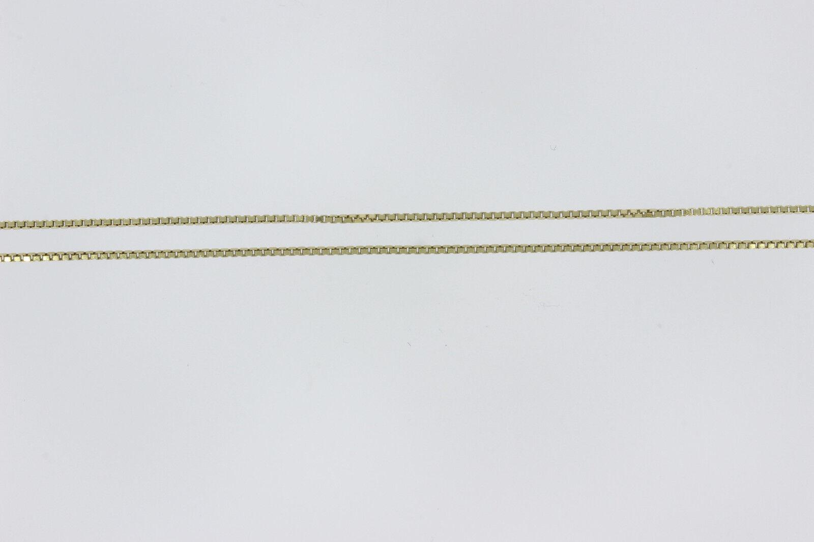7566 - 333er GIALLO oro CATENA LUNGA 41 cm di di di larghezza 0 86 forte 0 86 MM peso 1 6 grammi 631d23