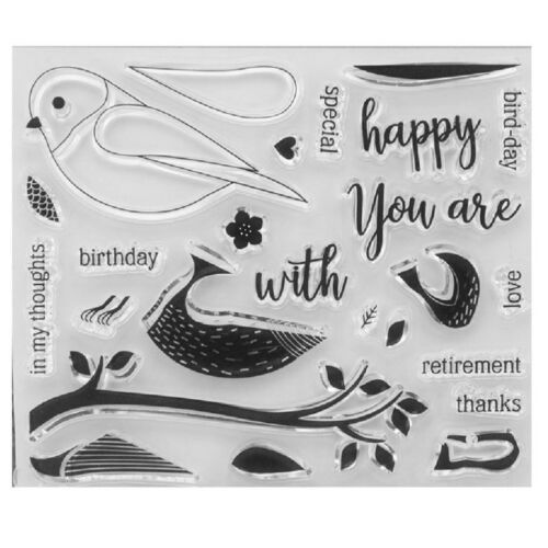 Silicone Clear Stamp Transparent Rubber Stamp DIY Scrapbook Christmas Alphabet