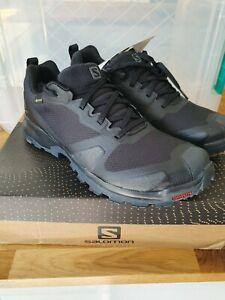 Salomon XA colisionador GTX Trail Running Zapatillas-Negro Talla UK7