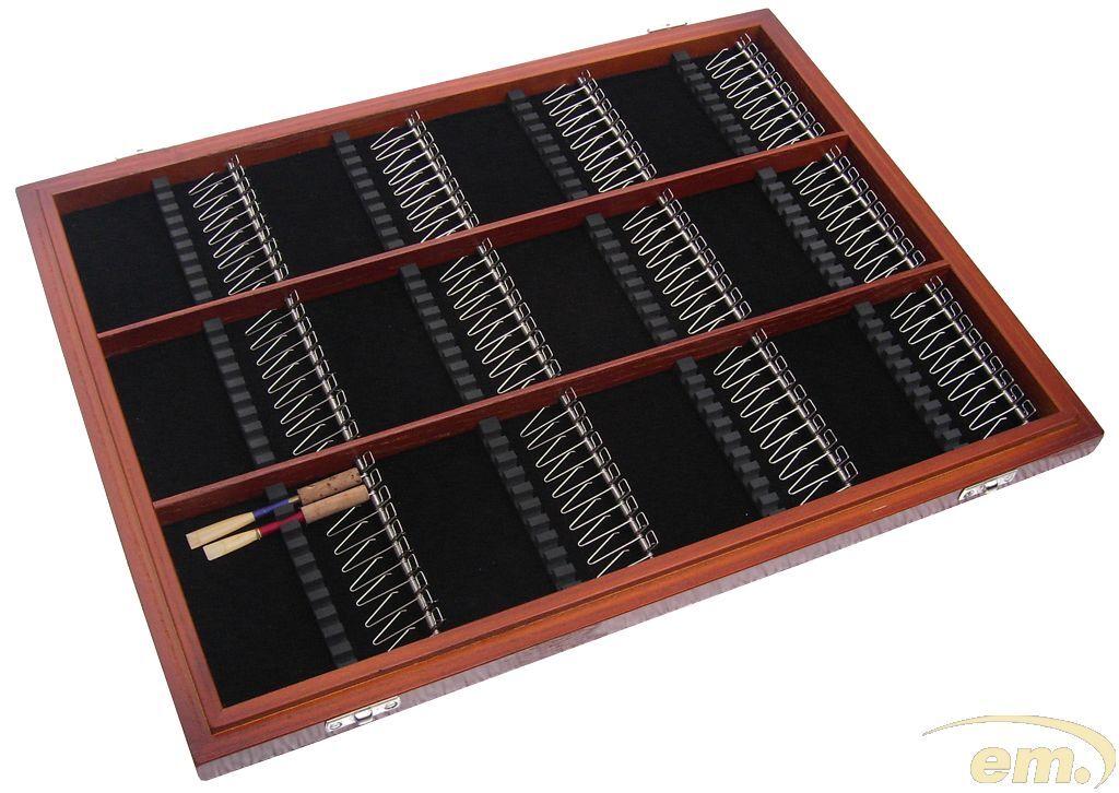 Pantalla Mostrar Estuche Para 120 Cañas Oboe