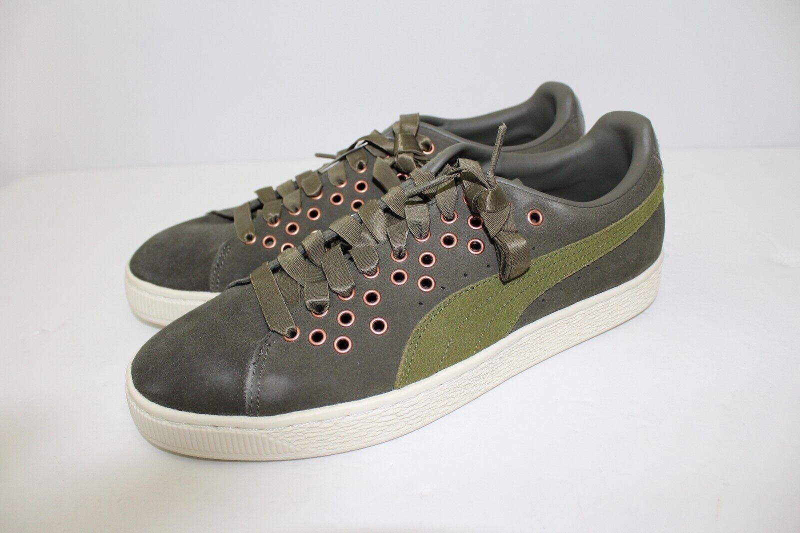 Puma Puma Puma Suede Xl Lace VR Sneakers - Olive - Women's Size 9.5 50d1a5