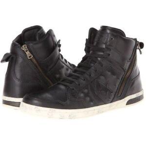 d893cf920011 Converse X John Varvatos Black Tutle Leather JV Weapen Hi Top ...