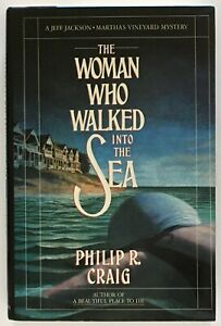 Philip-R-Craig-The-Woman-Who-Walked-into-the-Sea-SIGNED-FIRST-EDITION
