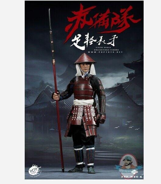 1 6 Scale Poptoys Ashigaru Japanese Foot Soldier W04A Standard