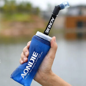 AONIJIE-BORRACCIA-FLASK-PIEGHEVOLE-TRAIL-RUNNING-SOFTFLASK-600-ml-CON-CANNUCCIA