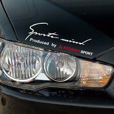 Headlight Sports Mind Decal Vinyl Car Stickers for MITSUBISHI Auto DIY Accessori