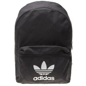 Détails sur Nouveau homme Adidas Noir Classique CORNICULÉ Polyester Sac à dos Sacs à dos afficher le titre d'origine