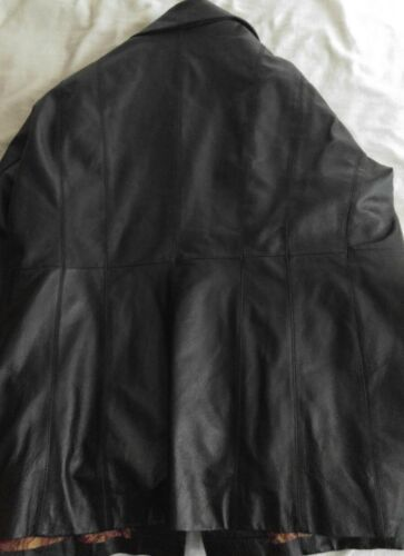en femmes cuir Manteau pour George gqw7zxaaS