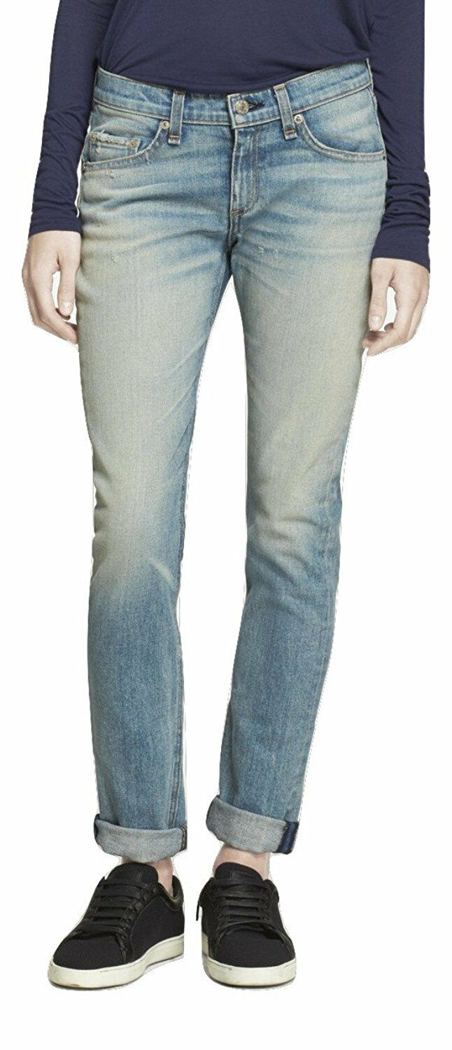 Rag and Bone Swansea Mid Rise Skinny Jeans Size 28 LF086 GG 06