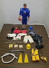 Vintage 1971 MATTEL BIG JIM Doll Action Figure w/Accessories