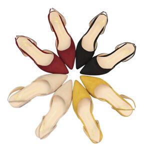 Chaussures-a-talon-plat-pour-femmes-Sandales-en-daim-a-talons-plats-Lady-ChausQ9