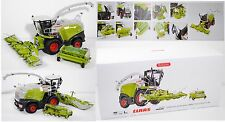 Wiking 77812 Claas Jaguar 860 Feldhäcksler mit Orbis 750 und Pick up 300