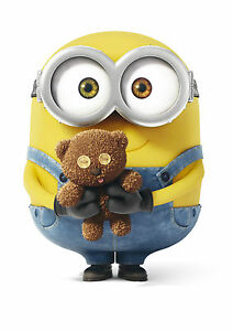 bob the minion poster art print a0 a1 a2 a3 a4 sizes ebay