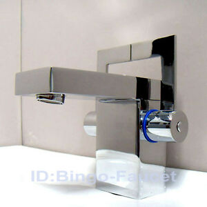 modern chrome double handles bathroom sink faucet mixer