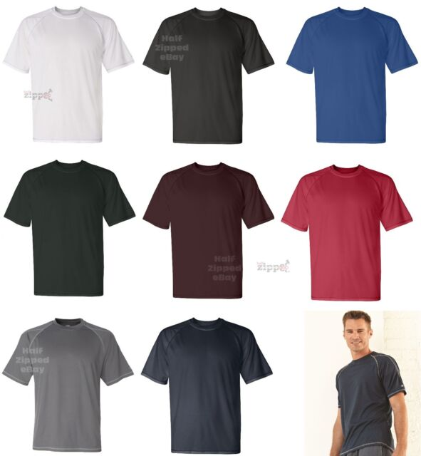 Champion Mens Double Dry Mesh T-Shirt T205 S-3XL Moisture Wicking Polyester