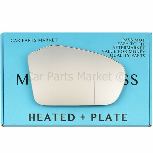 For Mercedes A-Class 04-08 Right side Aspheric Electric wing mirror glass plate