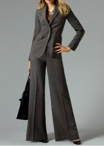 New Melange Pantalone Scott 40 grigio 80 gr pz Laura donna Blazer 2 Pantaloni da Long SxEO5